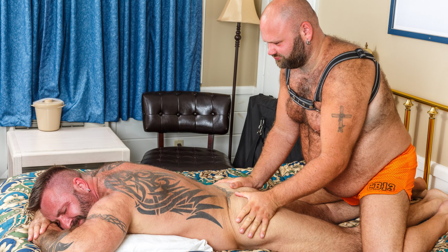 Bear Films Gay Bear Sex Marc Angelo and Will Foster