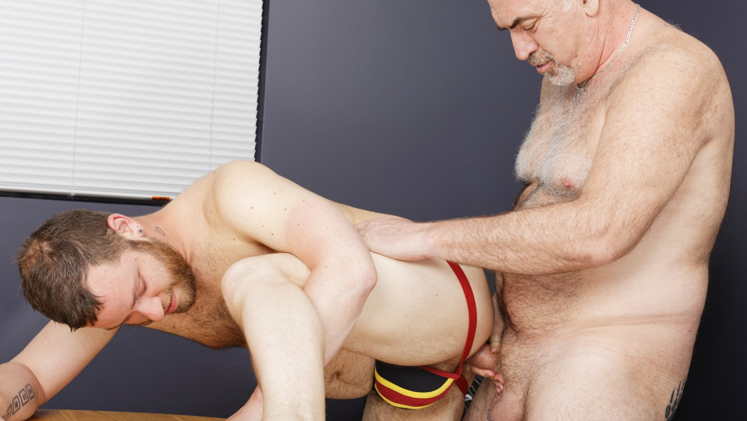 Bear Films Gay Bear Sex Phil Mehup and Martin Pe